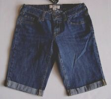 BANANA REPUBLIC Women's Jean Bermuda Stretch Denim Shorts Size 0,2,4,6 NWT