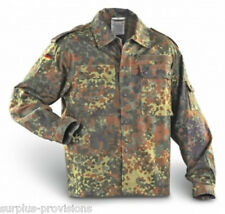 German Army Flecktarn Camouflage Shirt / Lightweight Jacket - Military Surplus