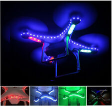 DJI Phantom Quadcopter LED Night Pilot Lamp Light Kit Strip In Nighttime Flight