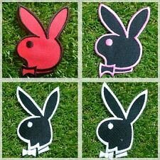 Playboy Bunny Logo, Cute Rabbit Patch Iron Embroidered Applique Sew Badge