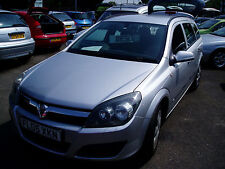 Low Mileage Diesel Estate Vauxhall Astra 1.7CDTi 16v ( 80ps ) 2005.5MY Life