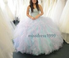 Charming Sweetheart Beaded Quinceanera Dresses 2016 Prom Ball Wedding dresses
