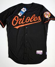 New Majestic Authentic Baltimore Orioles On-Field Black Jersey Men's Size 48