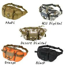 Tactical Hiking Climbing Bike Bicycle Sports Military Army Travel Waist Bag Pack