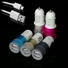 Good New Dual 2-port USB Universal Car Charger for iphone6/5 iPod/Ipad Samsung