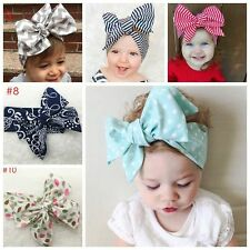 Lovely Kids Girl Baby Toddler Bowknot Headband Hair Band Accessories Headwrap