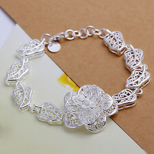 Wholesale Price Woman Multi-style 925Silver Bangle Bracelet Chains Gift Jewerly