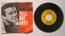 Bobby Vinton Tell Me Why b/w Remembering Picture Sleeve 45