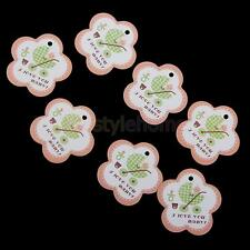 2000PCS BABY SHOWER SWING GIFT TAGS I LOVE YOU BABY CHRISTENING FAVOUR PARTY