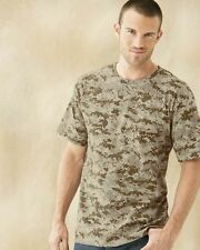 Code V-3906 - Camouflage Short Sleeve T-Shirt in 8 shades, S-2XL