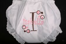 Personalized Monogrammed Diaper Covers Baby Toddler Bloomers Several Designs