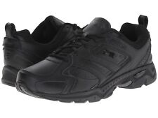 Fila CAPTURE Mens Black Comfort Athletic Lace Up Low Top Running Shoes
