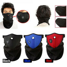 Black Ski Snowboard Motorcycle Bicycle Winter Neck Warmer Warm Sport Face Mask