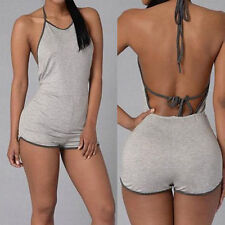 Women's Clubwear Party Jumpsuit Sexy Summer Playsuit Bandage Bodycon Rompers HOT