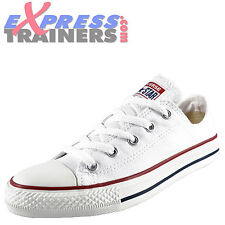 Converse Junior Kids Chuck Taylor All Star Lo Classic Trainers White *AUTHENTIC*