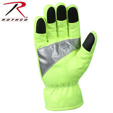 Rothco Safety Green Gloves With Reflective Tape - 5487