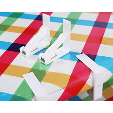 Plastic Table Cover Cloth Desk Skirt Clip Wedding Party Picnic Clamp Holder Fine