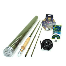 """NEW - Orvis Superfine Glass 4wt 7'6"""" Fly Rod Outfit - FREE SHIPPING!"""