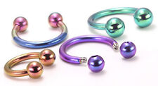 14g Titanium Circular Barbell - Body Jewelry