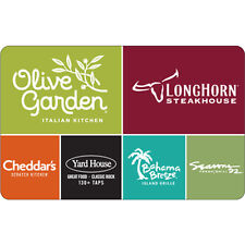 $10 / $25 Olive Garden Gift Card - Mail Delivery