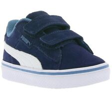 NEW PUMA 1948 Vulc V Kids Shoes Children Trainers Blue 359836 01 SALE