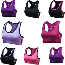 More Mile Womens More-Tech Running / Gym Crop Top