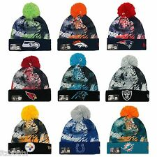 NEW ERA NFL teams Scenic Cover Splatter Sport Knit Hat Beanie
