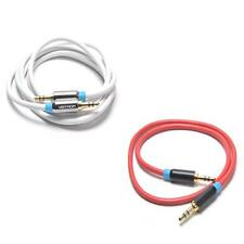Gold-plated Aux Audio Cable 3.5mm Male to Male Stereo Adaptor For PC/TV/Car