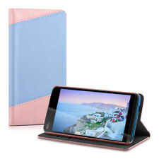 kwmobile WALLET SYNTHETIC LEATHER CASE FOR WIKO RAINBOW JAM COVER BAG MOBILE