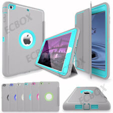 Shockproof Heavy Duty Hard Rugged Case Stand Smart Cover For Apple iPad Series