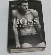 Boss Hugo boss men Black ultra soft Modal boxer shorts Trunk underwear Size S