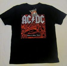 ACDC AUSTRALIAN TOUR 2010 ROCK N ROLL TRAIN ADULT MENS CONCERT TSHIRT