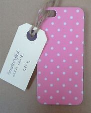 Handcrafted Cath Kidston iPhone 4/4s Case decoupaged with 'Dotty' print