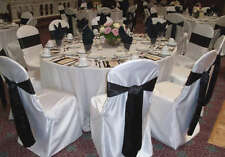 150 Round / Square Top Satin Banquet Chair Covers wedding Restaurant...FREE SHIP