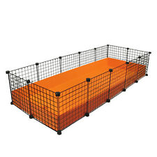 NEW Cube & Coroplast Guinea Pig Cage 2x5 Grid C&C - XL
