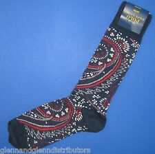 NWT Polo Ralph Lauren Allover Paisley Print Dress Socks