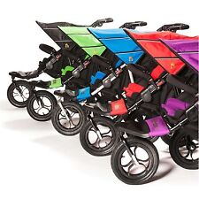 Out N About Nipper 360 Double Buggy V4/Raincover/1 x Footmuff/Storage Basket