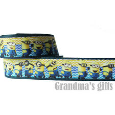 "1""25mm Caroons  Printed grosgrain ribbon 5/50/100 yards hairbow Wholesale"