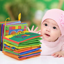 KIDS BABY Intelligence development Cloth Bed Cognize Book Educational Toy ONE