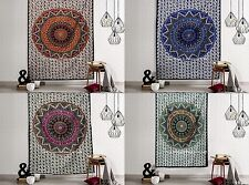 Indian Twin Size Star Mandala Tapestry Wall Hanging Decorative Bedspread Throw