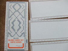 KNITTING MACHINE BLANK PUNCHCARDS - TOYOTA and other makes - your design