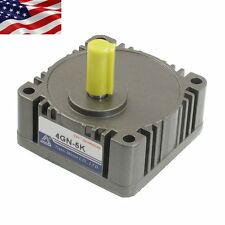 US Ship Metal Tooth Gear Box Head 5:1 Speed Reducer Ratio with 10mm Output Shaft