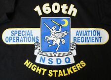 "160TH SPECIAL OPERATIONS AVIATION REGIMENT ""SOAR"" NSDQ SHIRT"