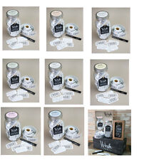 SPLOSH Wish Jars - Engagement, Birthday, Wedding, Baby Inspirational Messages