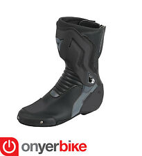 Dainese Nexus 2016 Race Road Track Motorbike Motorcycle Boots Black Anthracite