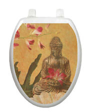 Serenity Toilet Tattoo  Removable Reusable Bathroom Decoration