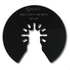 KENT 2.5 inch Diameter HSS Round Saw Quick Fit Oscillating Blade For Most Brands