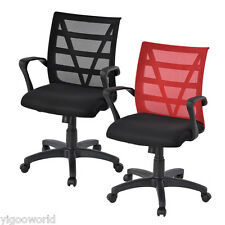 Ergonomic Mesh Office Chair Swivel Executive Task Computer Desk Mid Seat Back