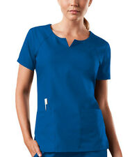 Royal Cherokee Workwear Round Neck Scrub Top 4824 ROYW