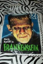 "Classic Monsters Stamp T-Shirt of Boris Karloff ""FRANKENSTEIN"" L/XL - NEW/SEALED"